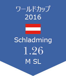 WC Schladming 報告