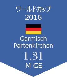 WC Garmisch Partenkirchen報告