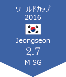 WC Jeongseon報告